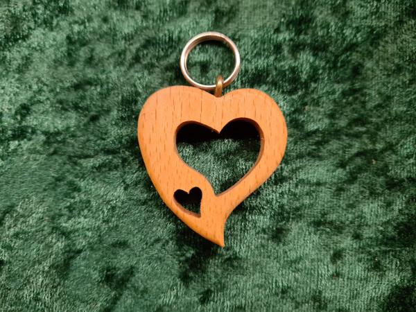 Herz asymmetrisch: Herz in Herz