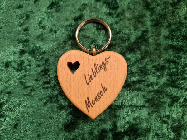 Herz: Lieblings - Mensch