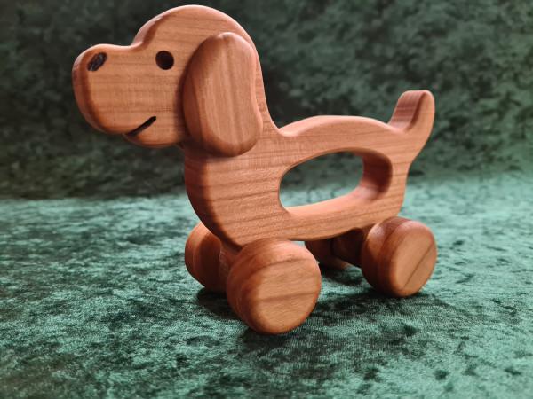 Roll - Hund mit Wackelohr