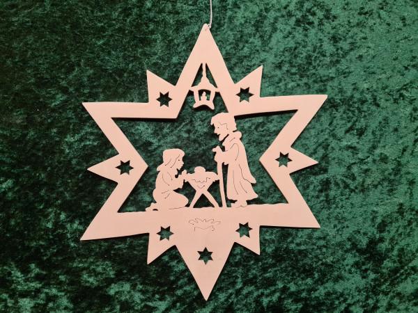 Heilige Familie im Stern