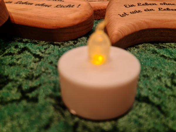 Batterie - Teelicht