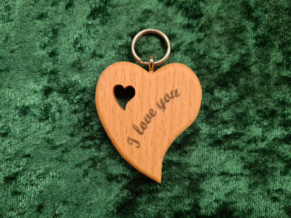 Herz asymmetrisch: I Love you