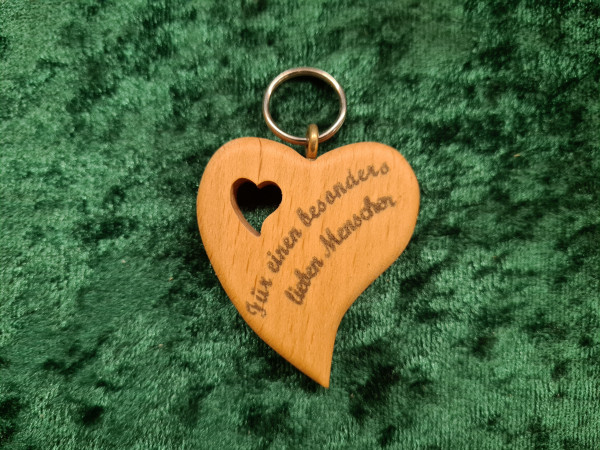 Herz Asymmetrisch: Für einen besonders lieben Menschen