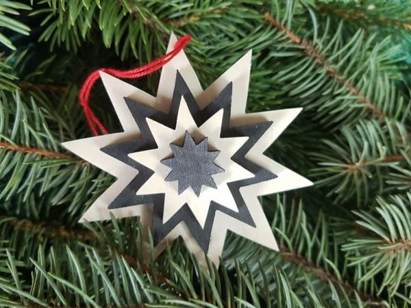 Christbaum-Weihnachtsbaum-Holzanhänger