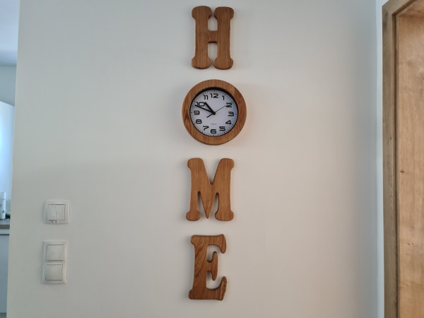 Wand - Uhr - Home