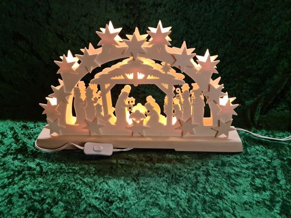 Schwibbogen - Geburt Christi
